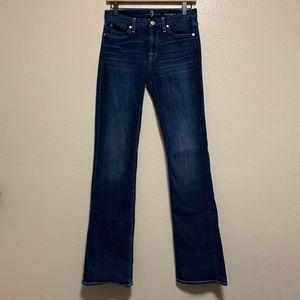 7 FAMK Karah bootcut women's denim jeans